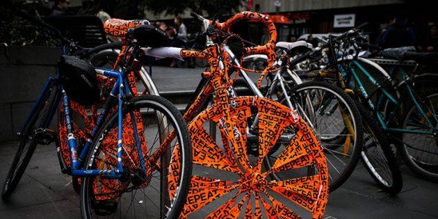 Как защитить велосипед.