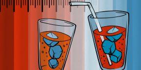 4 причины пить холодные напитки в жару