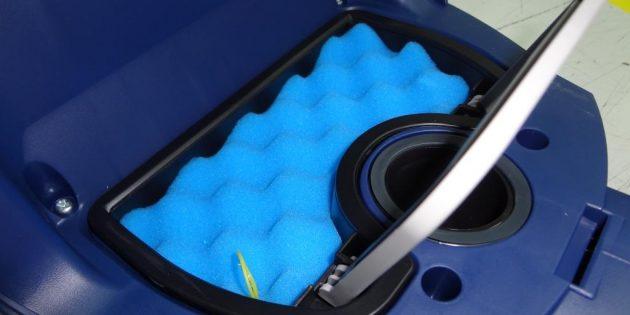 Как выбрать пылесос: Предмоторный фильтр