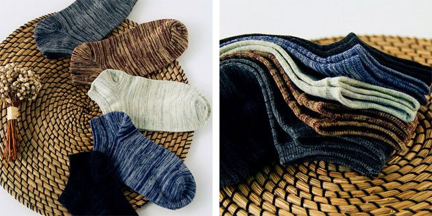 Красивые носки: мужские хлопковые носки