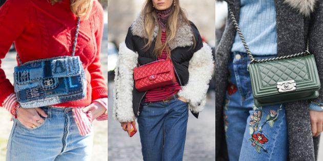 Модные вещи 2018: Сумочки-кроссбоди с укороченным ремешком