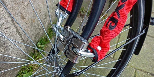 Как защитить велосипед. Цепной замок