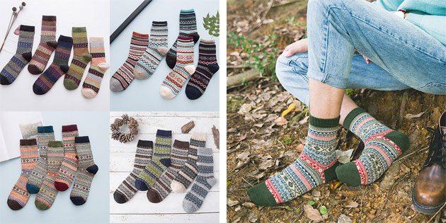 Красивые носки: мужские носки с картинами