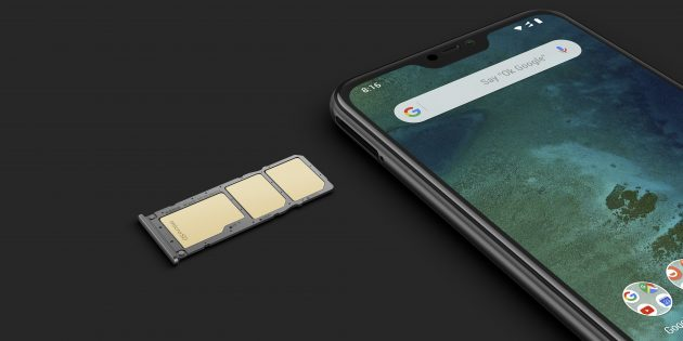 Память Xiaomi Mi A2