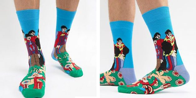 Красивые носки: Happy Socks×The Beatles