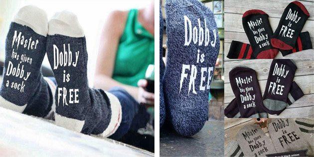 Красивые носки для фанатов «Гарри поттера»