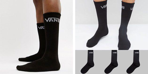Красивые носки: мужские носки vans