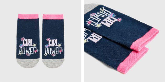 Красивые носки: Носки с фемпринтом