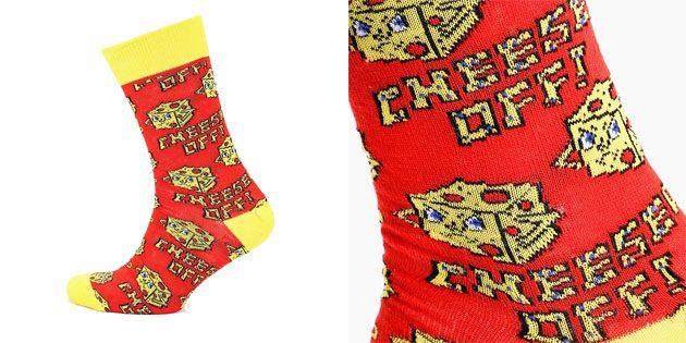 Красивые носки с ярким принтом