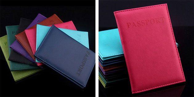100крутых вещей дешевле 100рублей: обложка для паспорта
