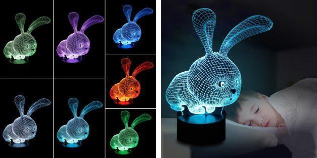 Ночник-кролик