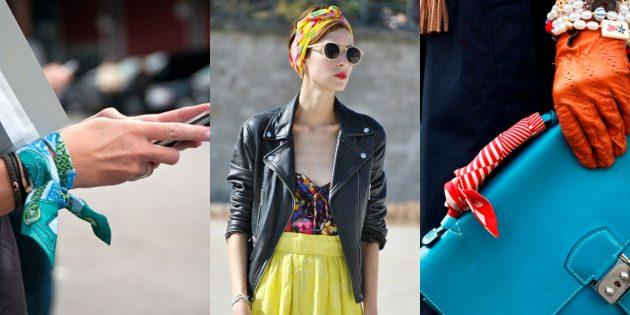 Модные вещи 2018: Платки