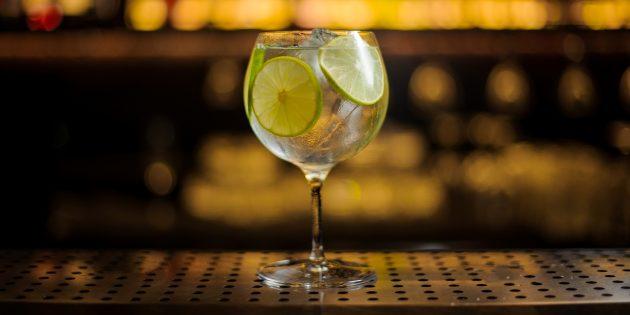 рецепты алкогольных коктейлей: джин-тоник
