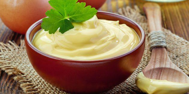 Домашний майонез с уксусом без горчицы: простой рецепт