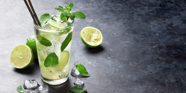 алкогольные коктейли: мохито