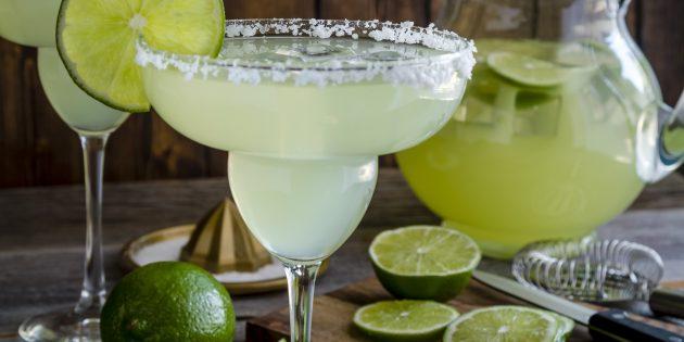 алкогольные коктейли: Маргарита