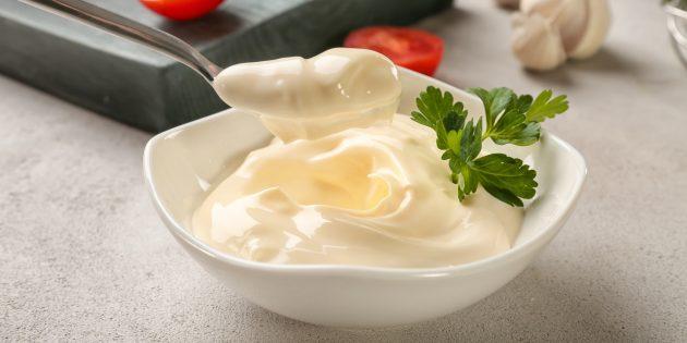 Рецепт домашнего майонеза без яиц