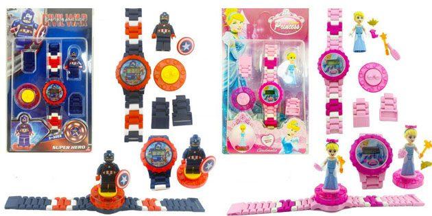 Детские Lego-часы