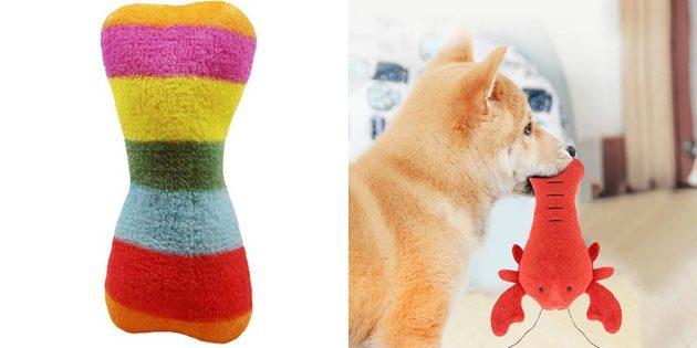 100крутых вещей дешевле 100рублей: игрушки для щенка