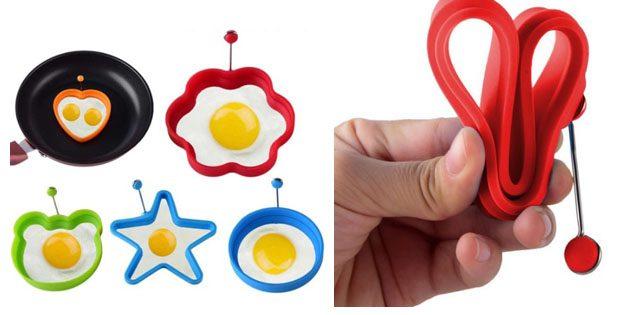 100крутых вещей дешевле 100рублей: формы для яичницы