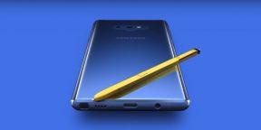 Samsung случайно опубликовала официальный видеотизер Galaxy Note 9