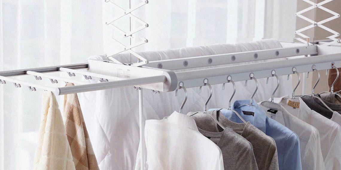 сушилка для белья: Размещение одежды