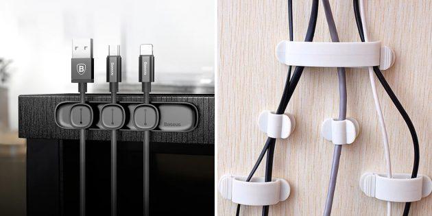Недорогие подарки на 23Февраля: органайзер для кабелей
