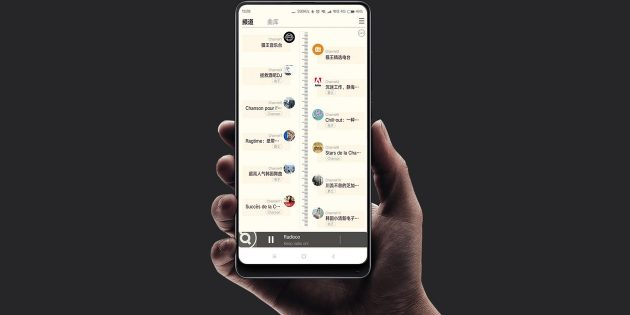 колонка Xiaomi: Список радиостанций