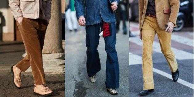 Самые модные мужские брюки: Брюки в стиле 1970-х