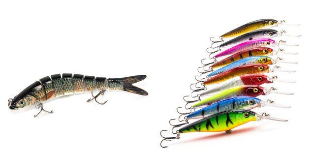Недорогие подарки на 23Февраля: рыболовные приманки
