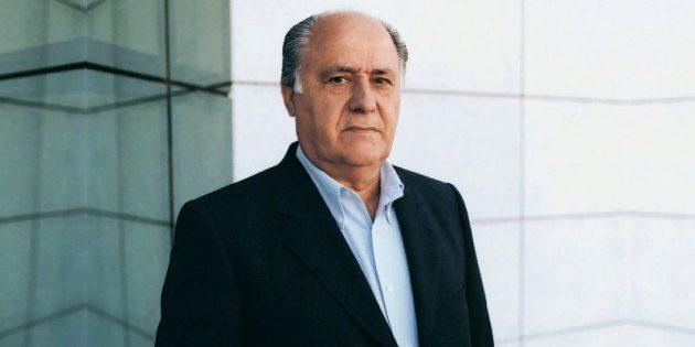 Известные бизнесмены: Амансио Ортега, Inditex