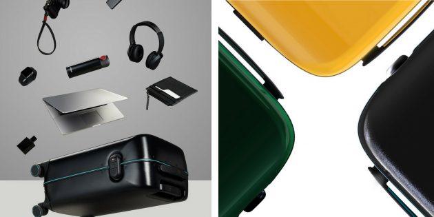 чемодан Xiaomi: три цветовых варианта