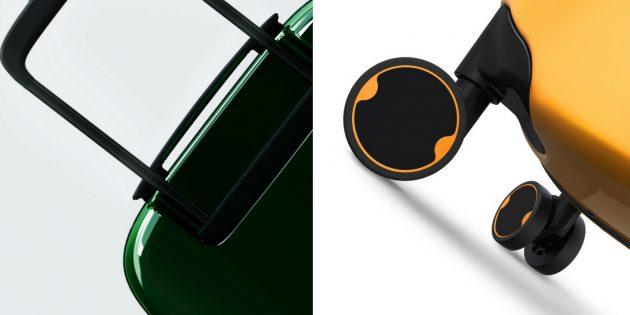 чемодан Xiaomi: 90Minutes Smart Unlock Suitcase