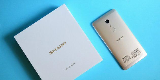 Sharp Z2: Коробка