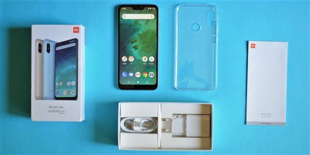 XiaomiMiA2Lite: Комплектация