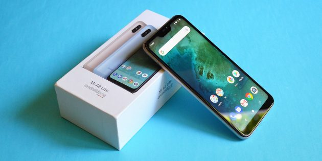 XiaomiMiA2Lite: Коробка
