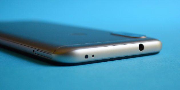 XiaomiMiA2Lite: Верхняя грань