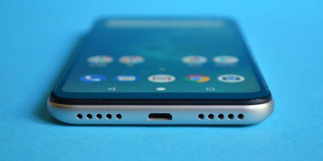XiaomiMiA2Lite: Внешний динамик
