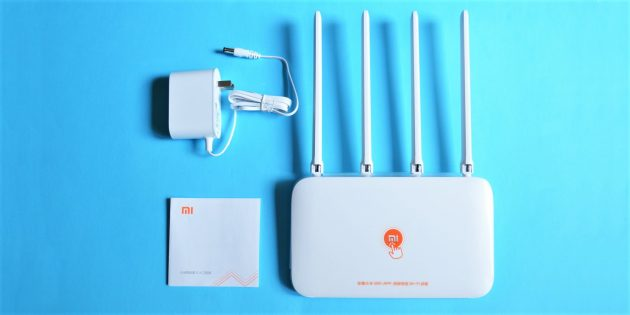 Mi Router 4: Комплектация