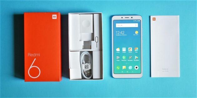 Xiaomi Redmi 6: Комплектация