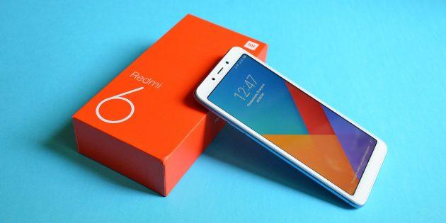 Xiaomi Redmi 6: Внешний вид