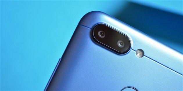 Xiaomi Redmi 6: Камера