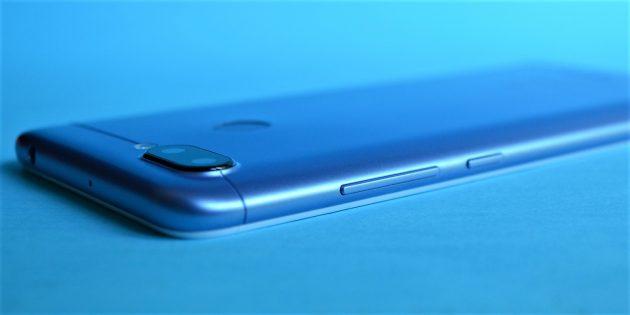 Xiaomi Redmi 6: Кнопки