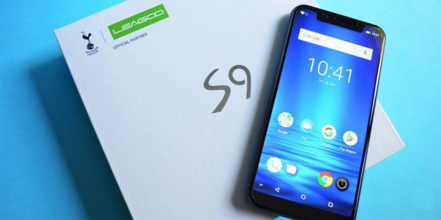 Обзор Leagoo S9 — бюджетного смартфона с чистым Android 8.1