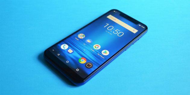 Обзор Leagoo S9: Внешний вид