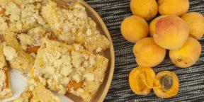 10 ароматных и очень красивых пирогов с абрикосами