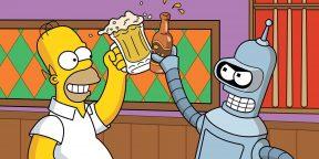 Стиль и юмор Мэтта Грейнинга — автора «Симпсонов» и «Футурамы»