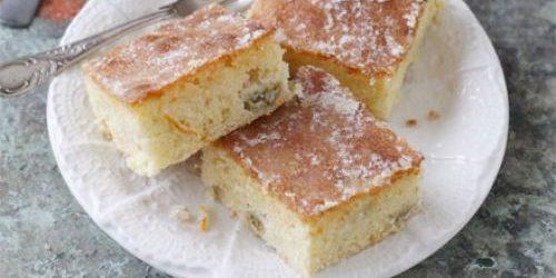 Рецепты из крыжовника: Пирог с крыжовником и апельсиновой глазурью
