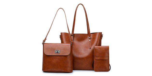 Комплект из трёх сумок