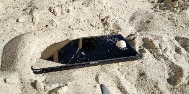 VerneeV2Pro: Испытание песком
